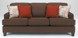buy ashley furniture 1600138 deshan chocolate sofa
