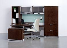 Aurora Office Furniture by National Office Furniture Epic Casegoods Exhibit Wall Rail