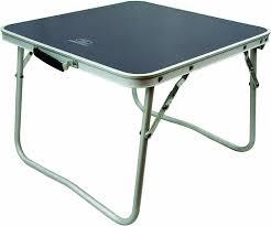 B O Tische Bocamp Aluminium Tisch Mit Teleskopbeinen 60x45x25 60cm Gewicht
