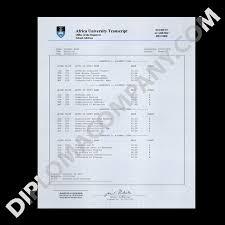 fake transcript south africa college university