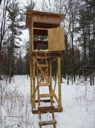 Box Blinds For Deer Hunting Deer Hunting Box Stand Build My Stand Tree Stand Plans
