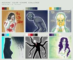 Colour Scheme Color Scheme Challenge By Suchanartist13 On Deviantart