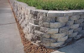 crestone beveled retaining wall block at menards