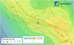 Los Angeles County Map Very Real U201d Threat Of Earthquakes Prompts Los Angeles County To Sue