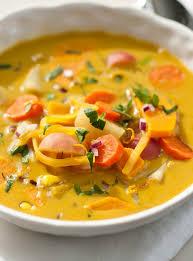 cuisine automne soupe au tapioca et aux légumes d automne de joël legendre ricardo