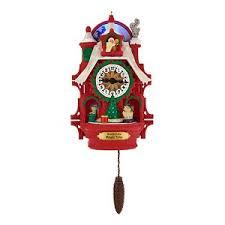 2017 qvc exclusive santa s magic cuckoo clock repaint hallmark