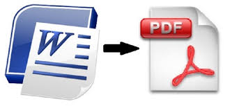 Convert Pdf To Word Word To Pdf Converter Using Ms Office 2013 Applications