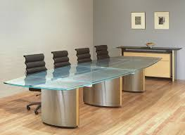 Glass Top Conference Table Executive Conference Tables Custom Glass Conference Table