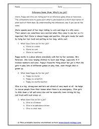 inferences worksheets worksheets