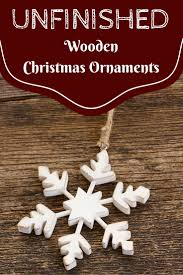 unfinished wooden tree ornaments to paint best