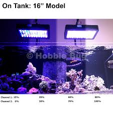 led aquarium lights for reef tanks amazon com 16 programmable led aquarium light fixture euphotica
