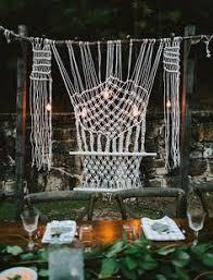 Wedding Backdrop Trends Macramé Matters The Knotted Wedding Trend We Still Heart