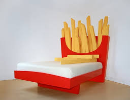 big bed pillows supersize french fries bed
