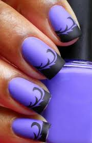 awesome purple nail art design ideas http www designsnext com p