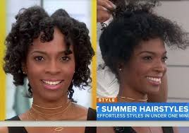 this woman s natural hair was just ruined on the today show