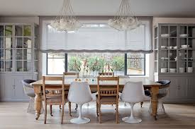 modern club chair dining room contemporary with juxtaposition of