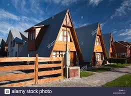 argentina patagonia chubut province esquel a frame houses