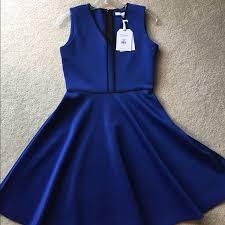 72 off reed krakoff dresses u0026 skirts reed krakoff blue scuba