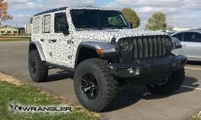 modified jeep 2017 mopar modified jl wrangler sport debuts in la 2018 jeep wrangler