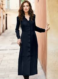 Women 39 s shirt dresses long black dresses travel dresses for