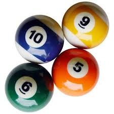 the history of pool balls and what they re made of