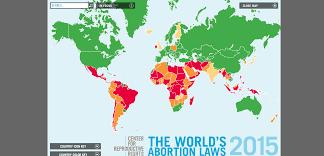 world abortion laws map 2015 safe2choose