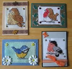 cross stitch card ideas