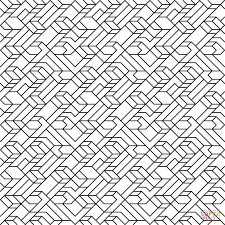 v1 line tiled pattern coloring page free printable coloring pages