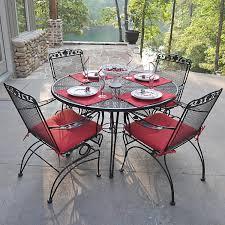 Interesting Composite Outdoor Furniture U2014 Kitchen Design Wonderful Wrought Iron Chair Cushions Outdoor