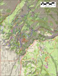 Map Of Provo Utah Provo Canyon Race Loop Trail