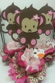 baby girl themes for baby shower baby shower monkey theme girl 5444