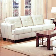modern white leather sofa bed sleeper recliner contemporary sofas