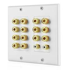 best 7 1 home theater home theater speaker wall plate outlet 7 2 7 1 banana plug binding