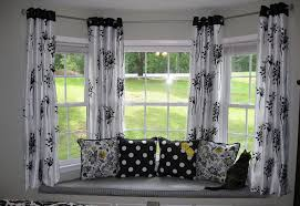 Home Decorating Ideas Curtains Homey By Window Design With Attractive Seating Area Design Plus