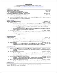 Resume For Information Technology Student Nayan Singhal Homepage