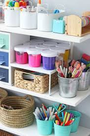 Diy Toy Storage Ideas Best 25 Kids Art Storage Ideas On Pinterest Kids Craft Storage