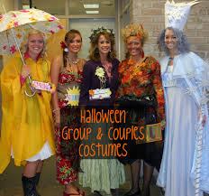 halloween costumes for groups of 4
