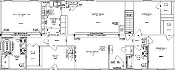 100 3 bedroom mobile home floor plans the hacienda ii
