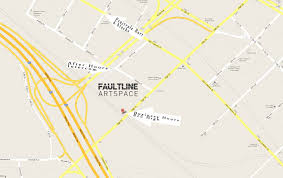 Fault Line Map Faultline Artspace A Creative Space In East Oakland Featuring A