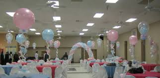 creative party rooms for baby shower cool home design unique at