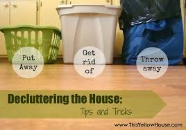 this yellow house decluttering the house my favorite tips and tricks