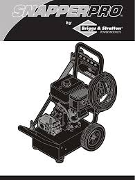 briggs u0026 stratton pressure washer 2700psi user guide