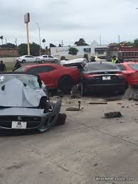 jaguar dealership bangshift com what are the odds car loses control leaving an