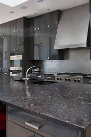 kitchen backsplash ideas black cabinets black granite kitchen countertops design ideas countertopsnews