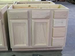 Kitchen Cabinet Surplus by Vanity Sink Base 42unfinished Oak Kitchen Cabinets Vanities