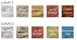Luxury Color Palette Metallique 5 Colour Palette