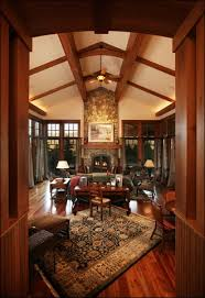 arts and crafts home interiors mountain arts and crafts living room traditional living room