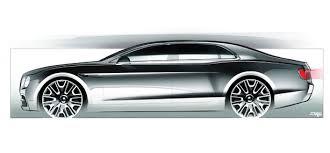the design evolution of a bentley car flying spur bentley