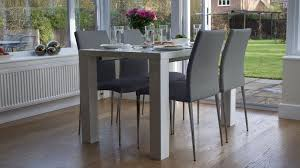 White Gloss Extendable Dining Table White High Gloss Extending Dining Table With 8 Chairs Glass Top