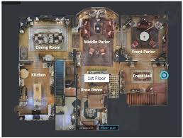 Lion And The Rose Victorian B B Inn 503 287 9245 Portland Oregon Floor Plans Oregon